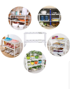 Expandable storage shelving
