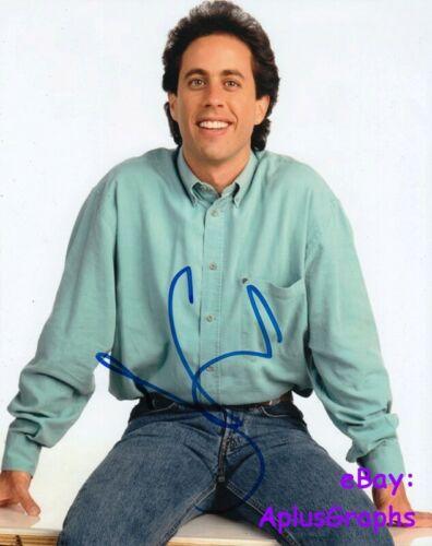 JERRY SEINFELD.. Seinfeld Charmer - SIGNED