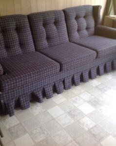 SOFA & MATCHING CHAIR....VERY GOOD CONDITION....$25.00 FOR BOTH