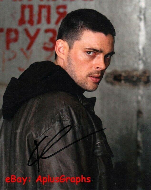 KARL URBAN.. The Bourne Supremacy - SIGNED