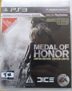 PS3 Games (2) Medal of Honor and NHL 13 Stanley Cup Edition  $10