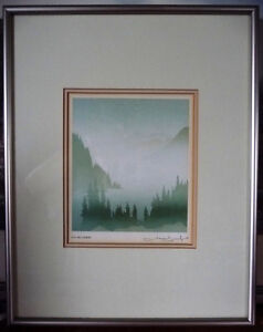 "Peter And Traudl Markgraf ""November"" Signed Print"