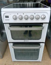 Hotpoint Ultima 50cm glasstop cooker