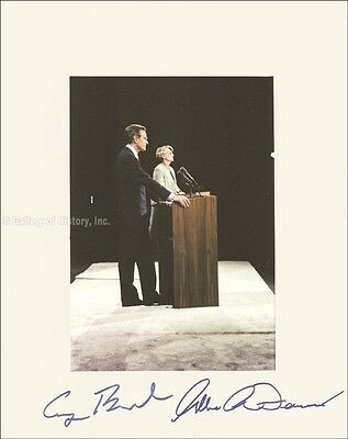 George H W  Bush   Photograph Signed Co Signed By  Geraldine A  Ferraro