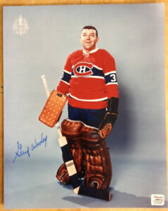 GUMP WORSLEY Autographed Montreal Canadiens NHL Hockey Photo