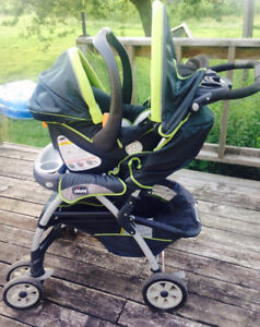 Chico cortina zest car seat travel system and 2 car bases