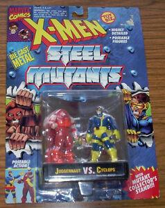 X-MEN STEEL MUTANTS - JUGGERNAUT VS. CYCLOPS (1994)