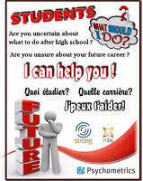 STUDENTS - Career Counselling