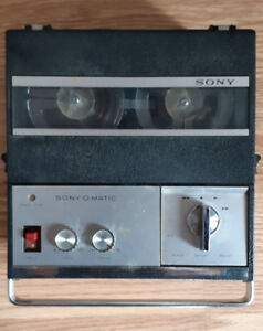 Sony Sony-Matic TC-900 S Reel to Reel Tape Recorder WORKINGComp