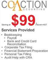 Tax Filing Bookkeeping and Accounting Services (Downtown Toronto