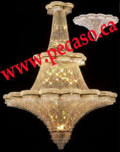 Swarovski Chandeliers From Original Pecaso