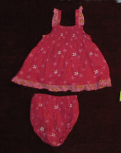 Baby girl dress, 9-12 months.