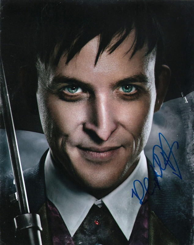 ROBIN LORD TAYLOR.. Gotham - SIGNED