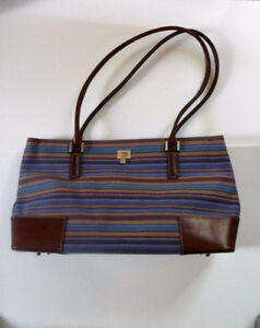 HOLT RENFREW CANVAS  BAG
