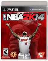 NBA2K14 sur ps3 à 20$