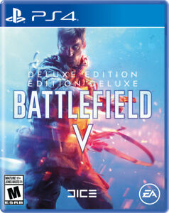 BATTLEFIELD V PS4 DELUXE EDITION !!!