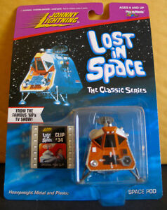JOHNNY LIGHTNING LOST IN SPACE SPACE POD MOC 1998 CLIP#34