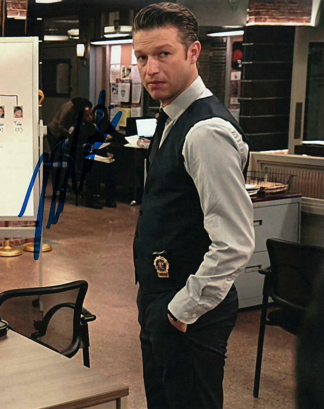 PETER SCANAVINO.. Law & Order: Special Victims Unit - SIGNED