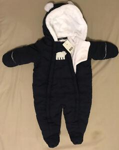 George baby snowsuit