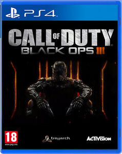 Selling Black Ops 3 for PS4 - $40