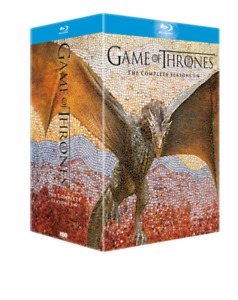Game of Thrones Complete Series Seasons 1-6 Bluray Boxset