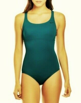 Nike 1 Piece - Women's small (S) 1 piece turquoise Nike Epic racerback swimsuit MSRP $88 NWT
