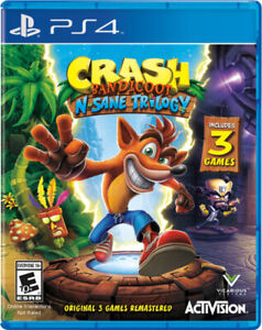 Crash Bandicoot N'Sane Trilogy for PS4