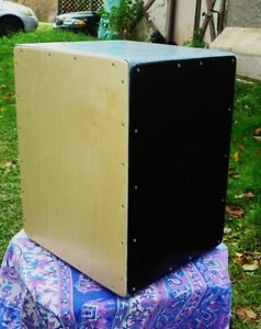Cajon: 3n1 cajon 3 playing surfaces Tunable snare n tribal sides Cambridge Kitchener Area image 4