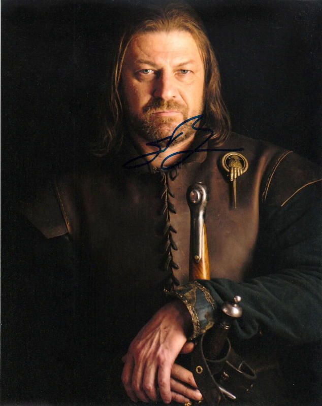 SEAN BEAN.. Game of Thrones - SIGNED