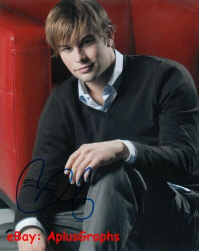 CHACE CRAWFORD.. Gossip Girl's Nate Archibald - SIGNED