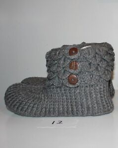 size 12 13 14 15 men slippers handmade crochetted knitted !! West Island Greater Montréal image 7