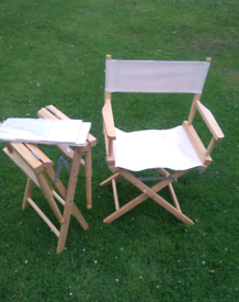 Directors chairs for Sale | Garden Chairs | Gumtree