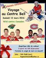 Voyage au Centre Bell Wild-Canadien - 12 mars 2016