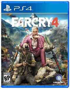 Farcry 4 game for PS4