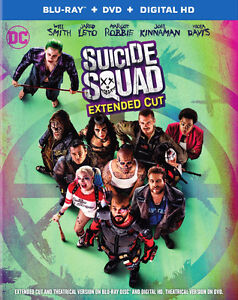 suicide squad Blu ray brand new unopened