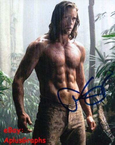 ALEXANDER SKARSGARD.. Shirtless Stud (The Legend of Tarzan) SIGNED