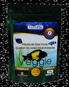 Fish food North Fin Veggie Formula 2mm Pellets London Ontario image 1