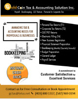 Tax, Accounting, Bookkeeping and Payroll Services