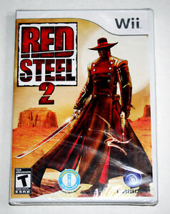 Wii Game...FACTORY SEALED Red Steel 2