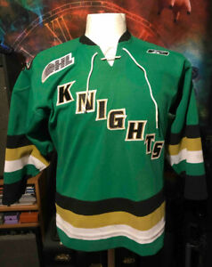 London Knights Official Reebok Jersey Team Autographed 2006-07 45532f24c6cb