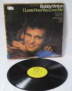 BOBBY VINTON‎ I Love How You Love Me, 1968 POP vinyl records LP