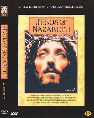 Jesus of Nazareth (1977) 2 Disc New Sealed DVD Robert Powell