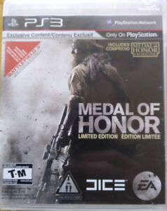 PS3 Games (2) Medal of Honor and NHL 13 Stanley Cup Edition