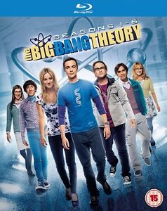 BLU-RAY! BIG BANG THEORY SEASONS 1-6 BOX SET