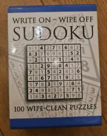Write on - Wipe off sudoku