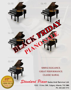 Black Friday New And Used Piano Sale