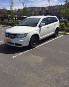 White 2014 Dodge Journey SUV, Crossover LOW KILOMETERS (51,238)