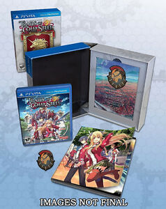 Legend of Heroes Trails of Cold Steel Lionheart Edition PS VITA