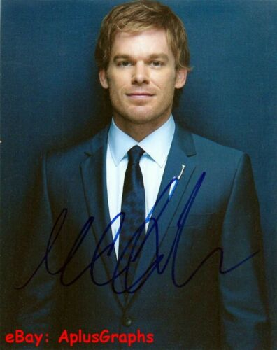 MICHAEL C. HALL.. Stage and Screen Charmer (Dexter) SIGNED