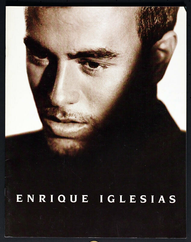 Enrique Iglesias Cosas Del Amor USA Tour 1998 Concert Program Book w/Photos Nice